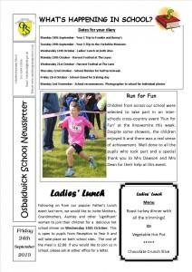 Newsletter 25.09.15