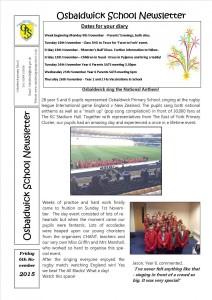 Newsletter 6.11.15