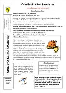 Newsletter 4.12.15
